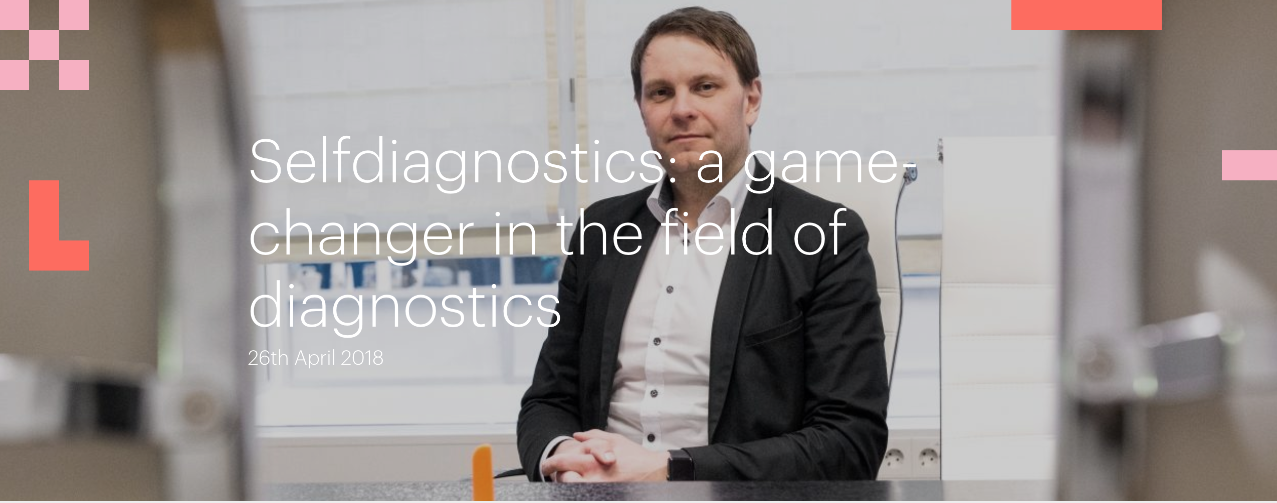Selfdiagnostics: a game-changer in the field of diagnostics