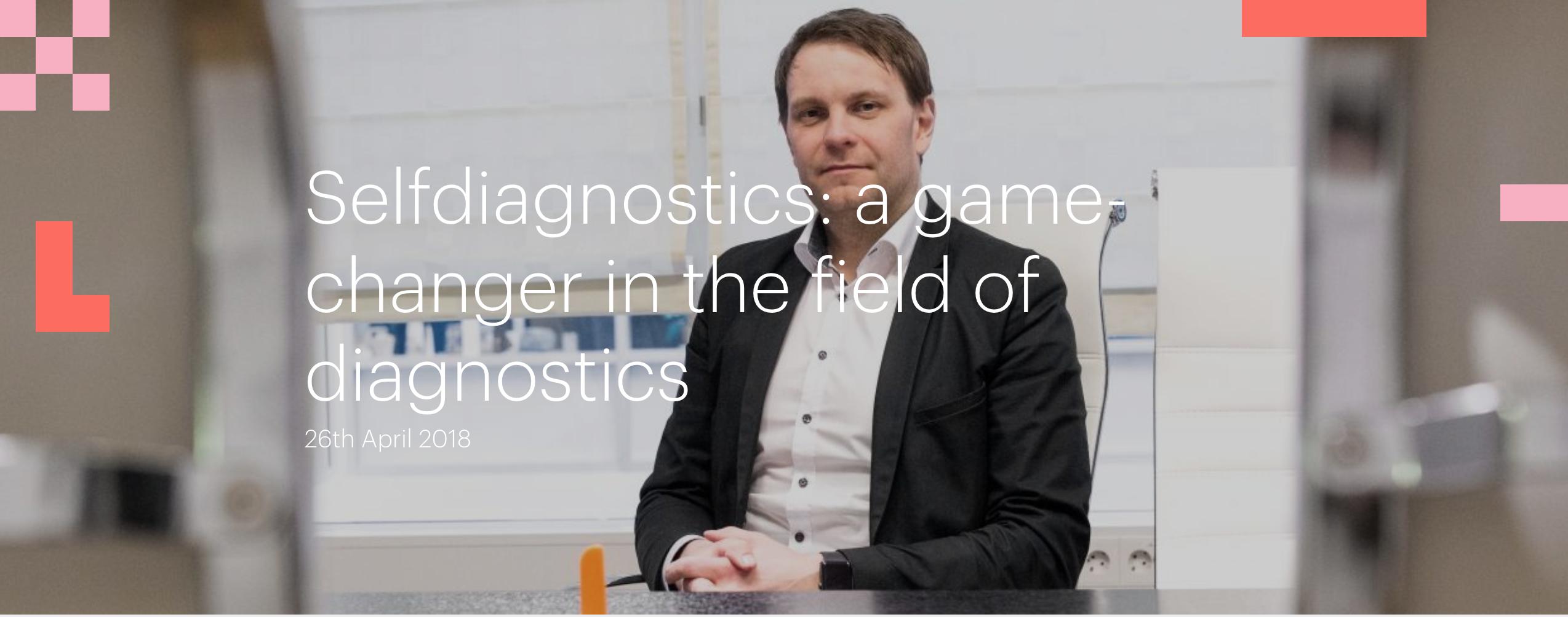 Selfdiagnostics: a game-changer in the field of diagnostics